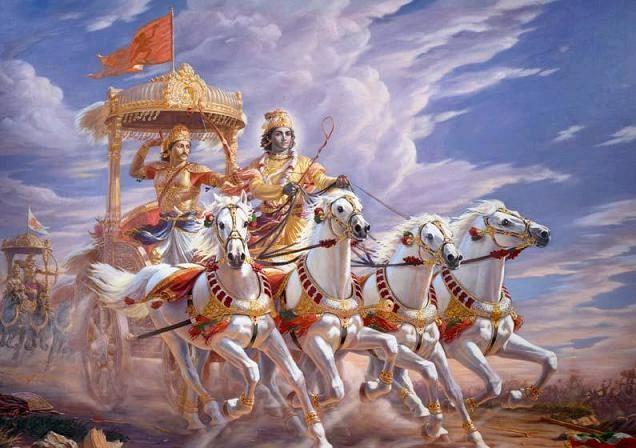 Krishna e Arjuna