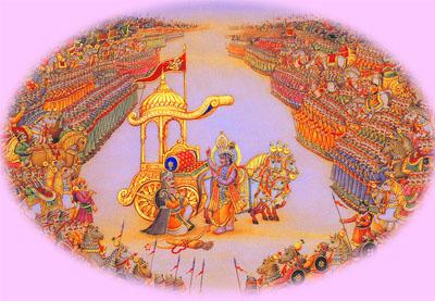 Krishna, Arjuna