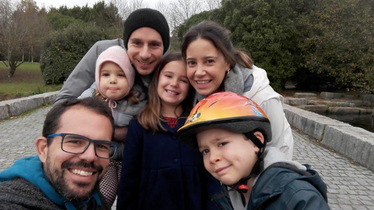 Família yogi, Porto (2018)