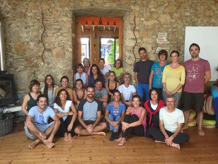 """Retiro de Yoga """"Meditação segundo a Tradição Védica"""" (2017)"""
