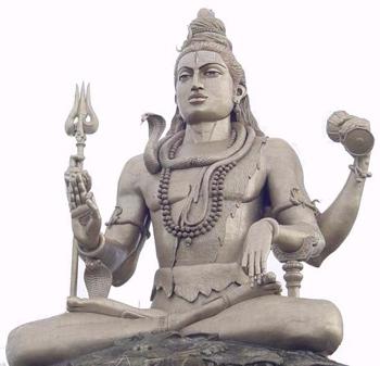 Estátua de Shiva - Yogamandir