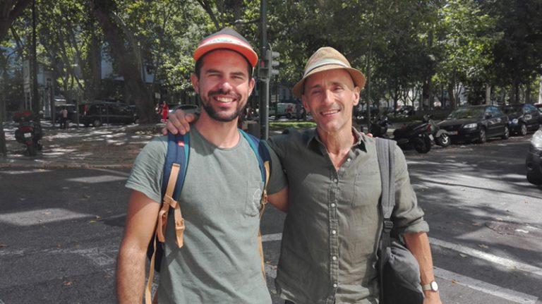 Simão com Nuno Cabral (2016)
