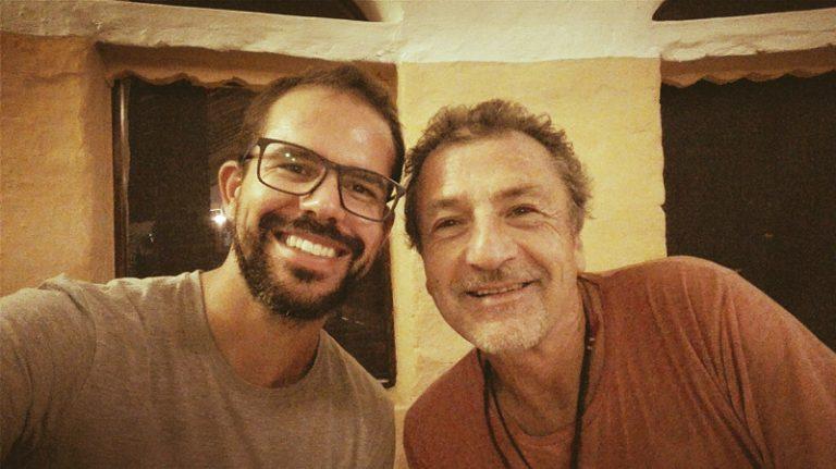 Com Tomás Zorzo, Auroville, Índia (2017)
