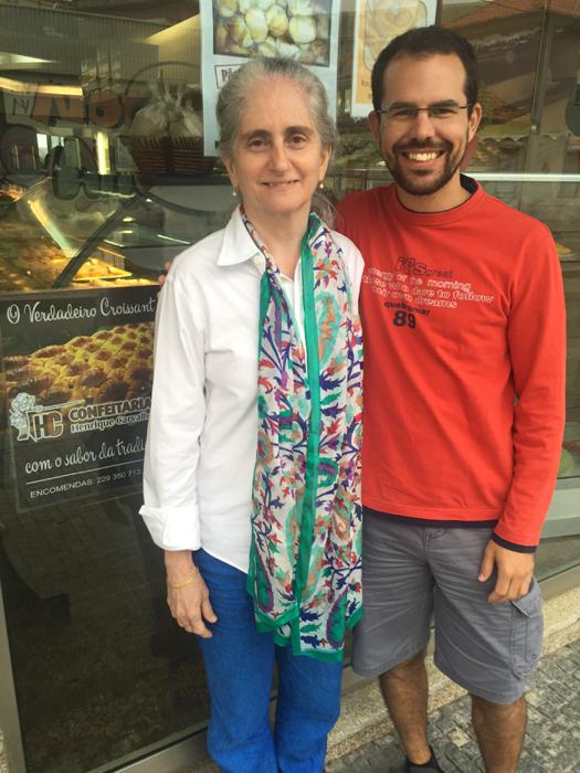 Simão com Gloria Arieira (2016)