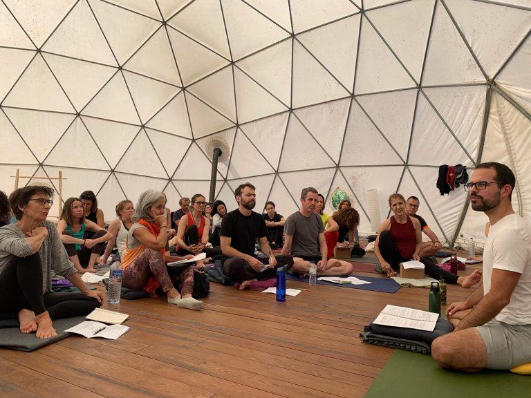Retiro Yoga Sutras de Patanjali, conjuntamente com Miguel Homem (2019)